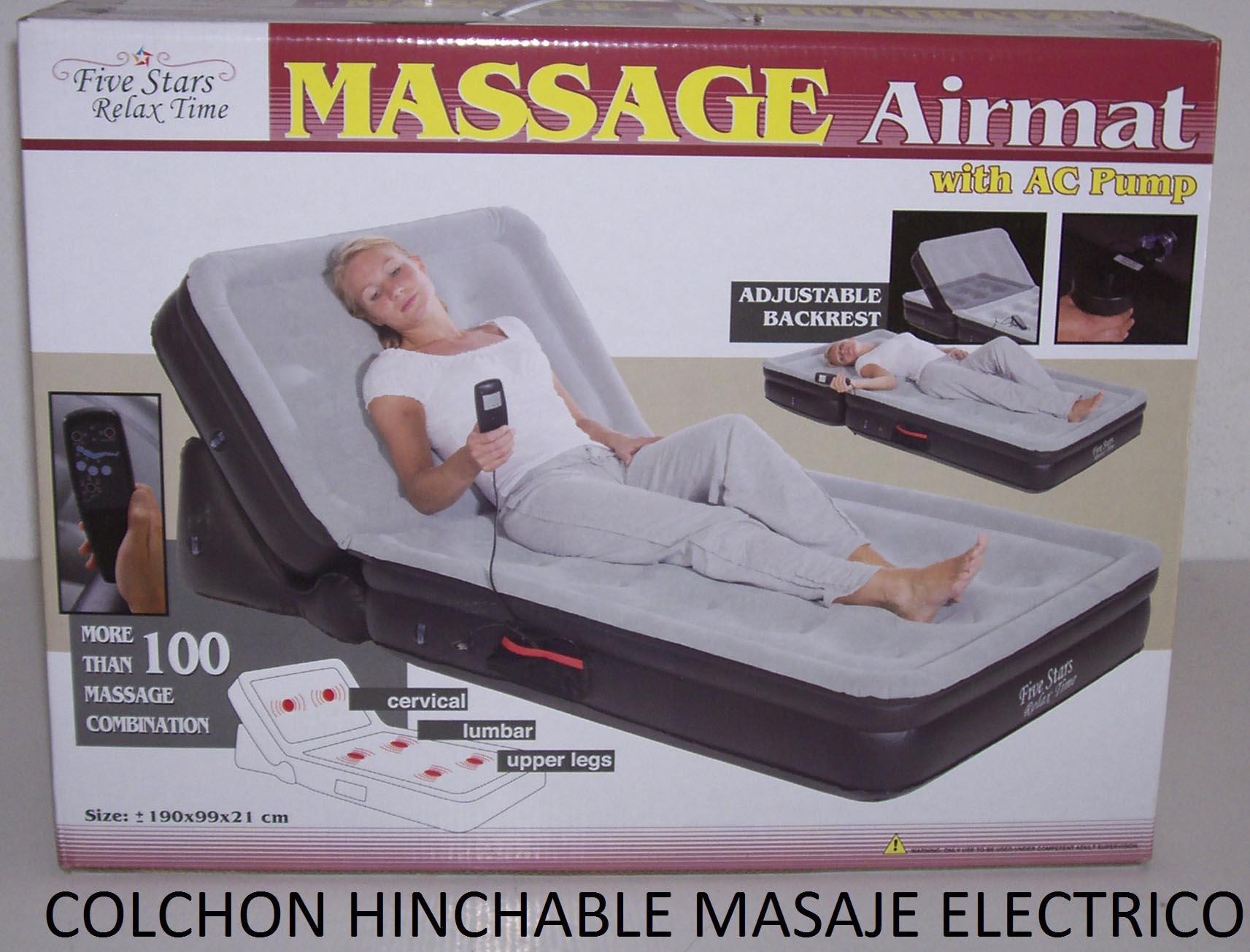 Sofa cama hinchable con masaje sillon cama anunciado en for Precio de sillon cama