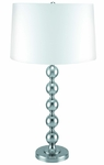 Bedside Table Lamp Steel Balls | As seen on TV