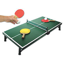 Delicieux Mini Tabletop Ping Pong