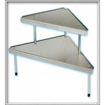 Triangular Metal Shelves 2 Levels | As seen on TV
