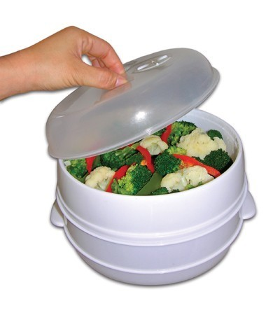 Microwave Food Steamer As Seen On Tv