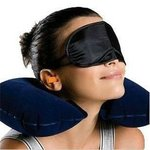Travel Kit Plugs Pillow Mask | As seen on TV