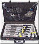 Kitchen Knives Briefcase 13pz As seen on TV