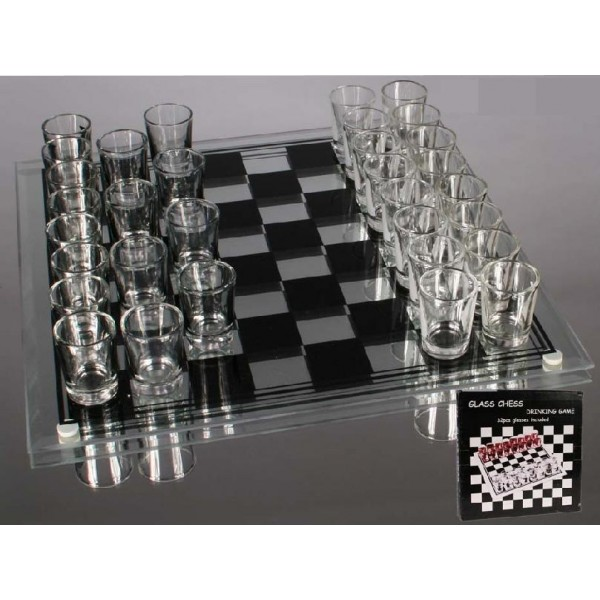 Chess Shots Drinking Game