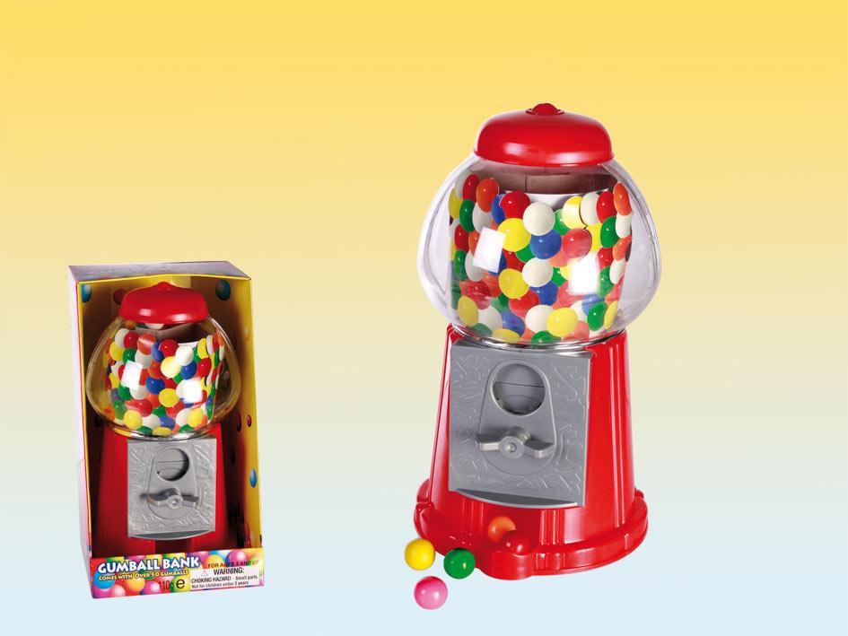 Maquina de chicles caramelos 13 cms 25 gr articulos de fiesta