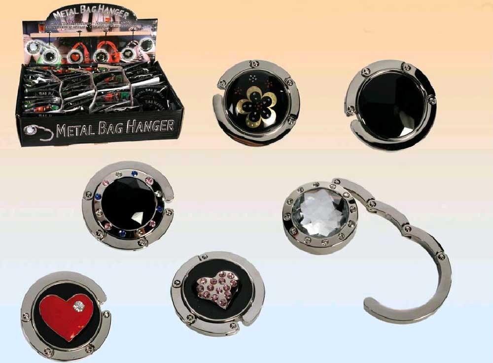 Cuelga bolsos colgador metalico articulos de fiesta - Perchas para bolsos ...