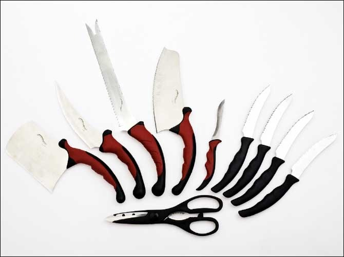 exceptional Knife Set As Seen On Tv Part - 18: ... Contour Knife Set ProV | As Seen on TV