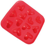 "Ice Cube maker ""Hearts"" for 12 Ice Cubes 