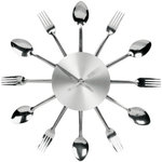 Cutlery Kitchen Clock