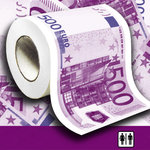 Euro Toilet paper 500€ bills printed  | Jokes and Funny