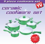 Ceramic Cookware Set As seen on TV