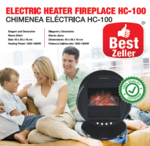 Electric Heater Fireplace BEST ZELLER HC-100