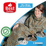 Animal Soft Blanket with Sleeves Best Zeller