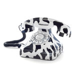 Cow Retro Telephone