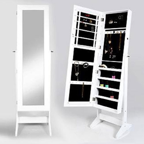 buy xxl jewellery organiser mirror at wholesale price. Black Bedroom Furniture Sets. Home Design Ideas